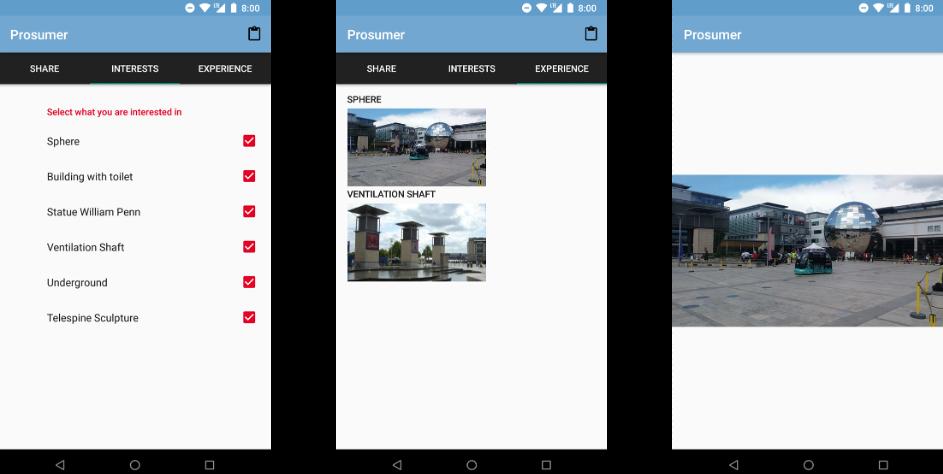 The Prosumer app